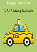 Taxi Driver - Greeting Card